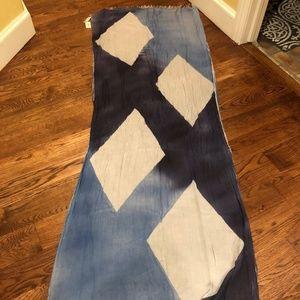 Eileen Fisher  Blue Maltinto Modal Scarf